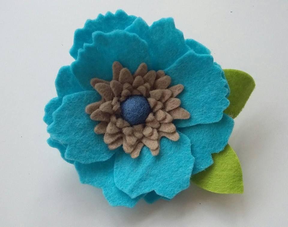 Flower Brooch no1