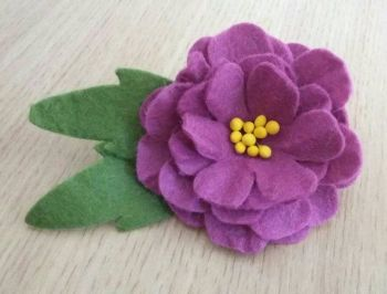 Flower Brooch no2