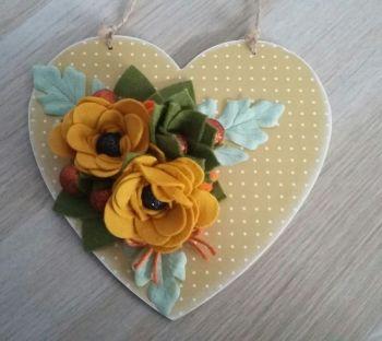 Hanging Heart no3