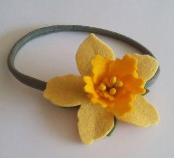 Daffodil Hairband
