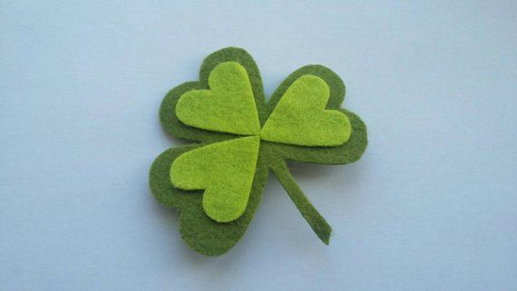Shamrock Brooch / HairClip