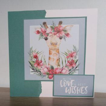 With Love & Best Wishes - Giraffe