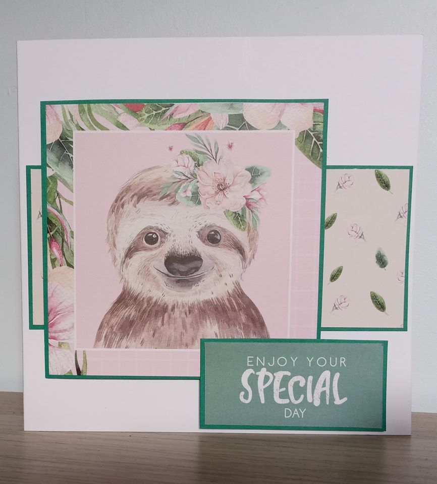 Enjoy Your Special Day - Sloth