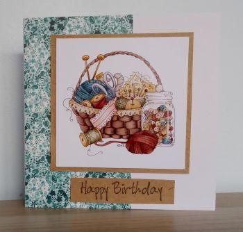 Happy Birthday - Craft
