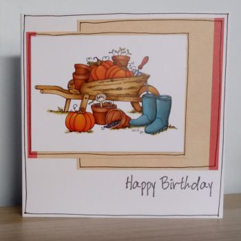Happy Birthday - Pumpkins