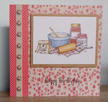 Happy Birthday - Baking