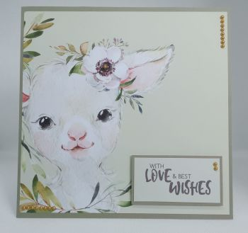 With Love & Best Wishes - Lamb