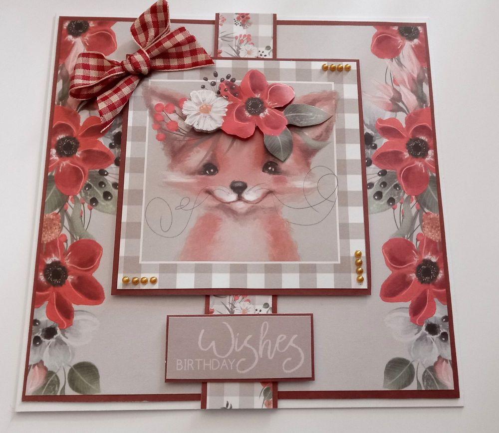 Birthday Wishes - Fox