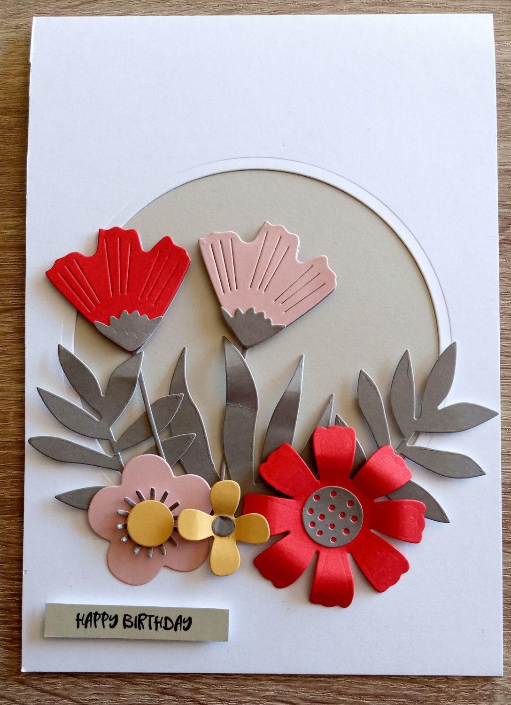 Happy Birthday - Flowers