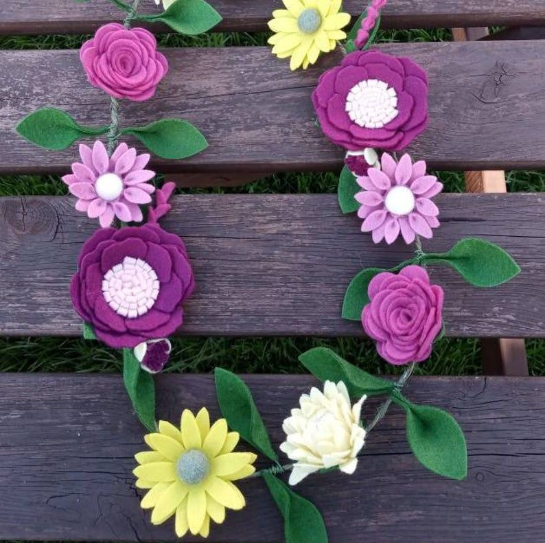 Mixed Flower Garland