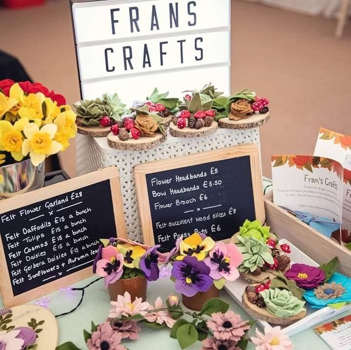 Fran's Crafts Logo