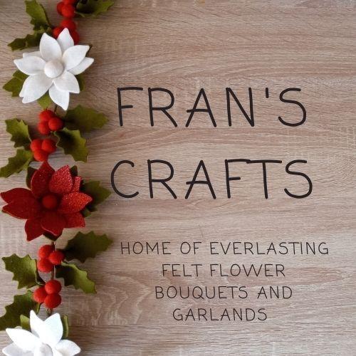 Felt flowers and garlands