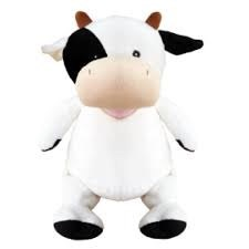 Callie Mae - Personalised Embroidered Cow