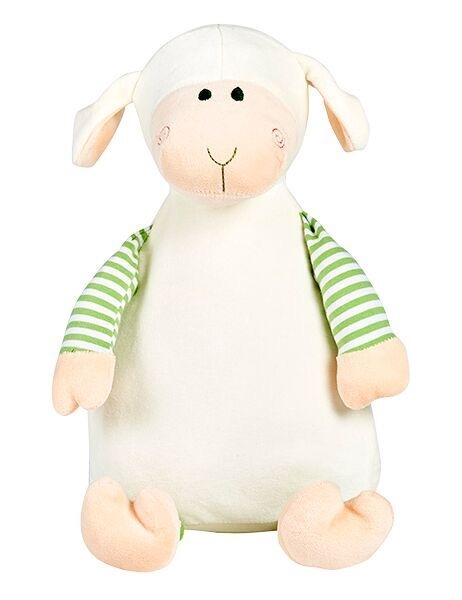 Loverby - Personalised Embroidered Lamb - Pastel