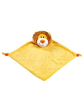 Personalised Lion Baby Blankie