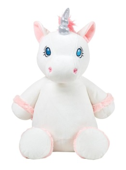 Starflower - Personalised Embroidered Unicorn - White