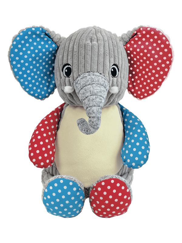 Harley - Personalised Embroidered Elephant