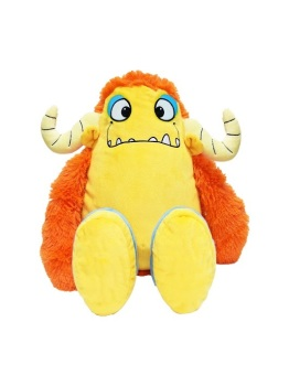 Marmalade - Personalised Embroidered Yellow Monster