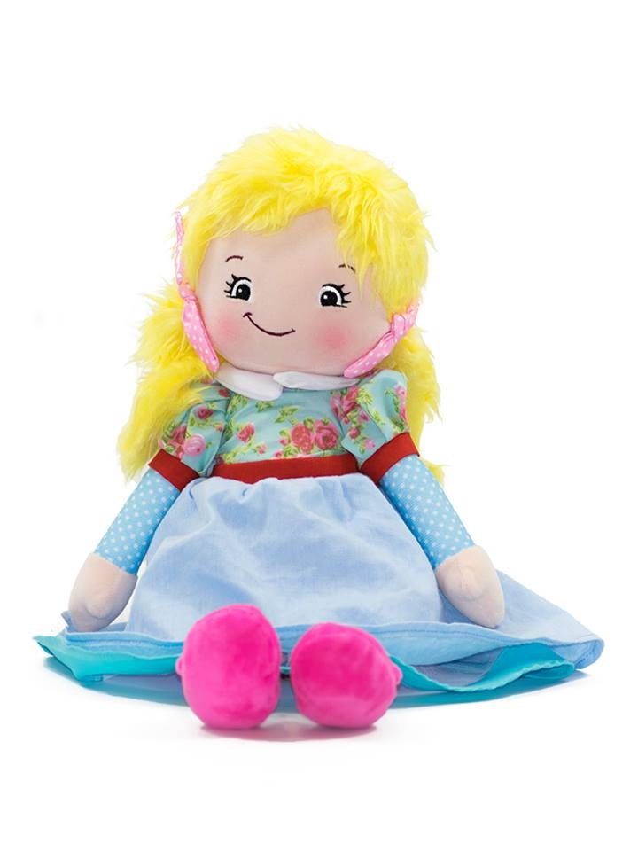 Joanna - Personalised Embroidered Rag Doll