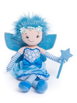 Jade - Personalised Embroidered Fairy Rag Doll