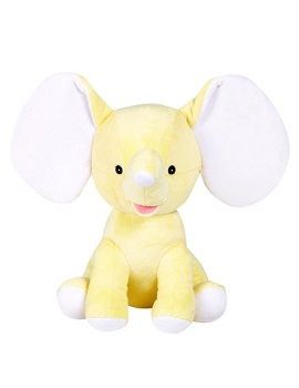 Dumbles - Personalised Embroidered Elephant - Yellow