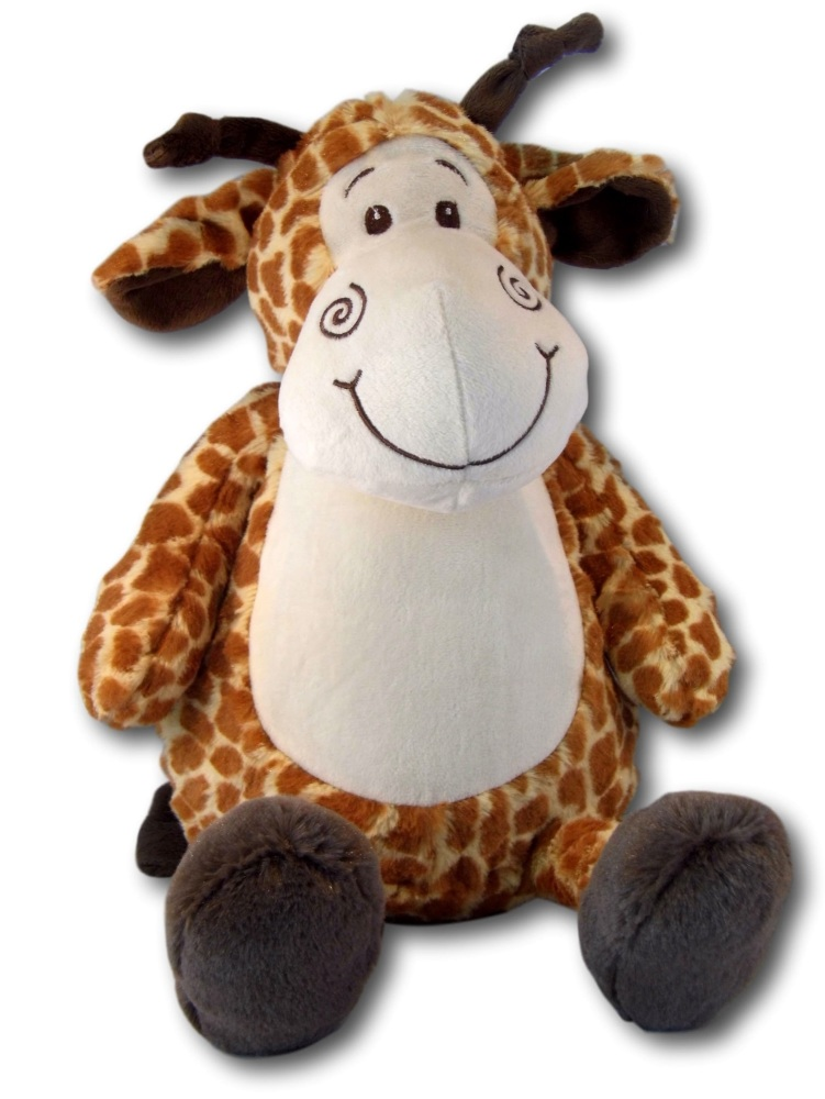 Jeffery - Personalised Embroidered Giraffe