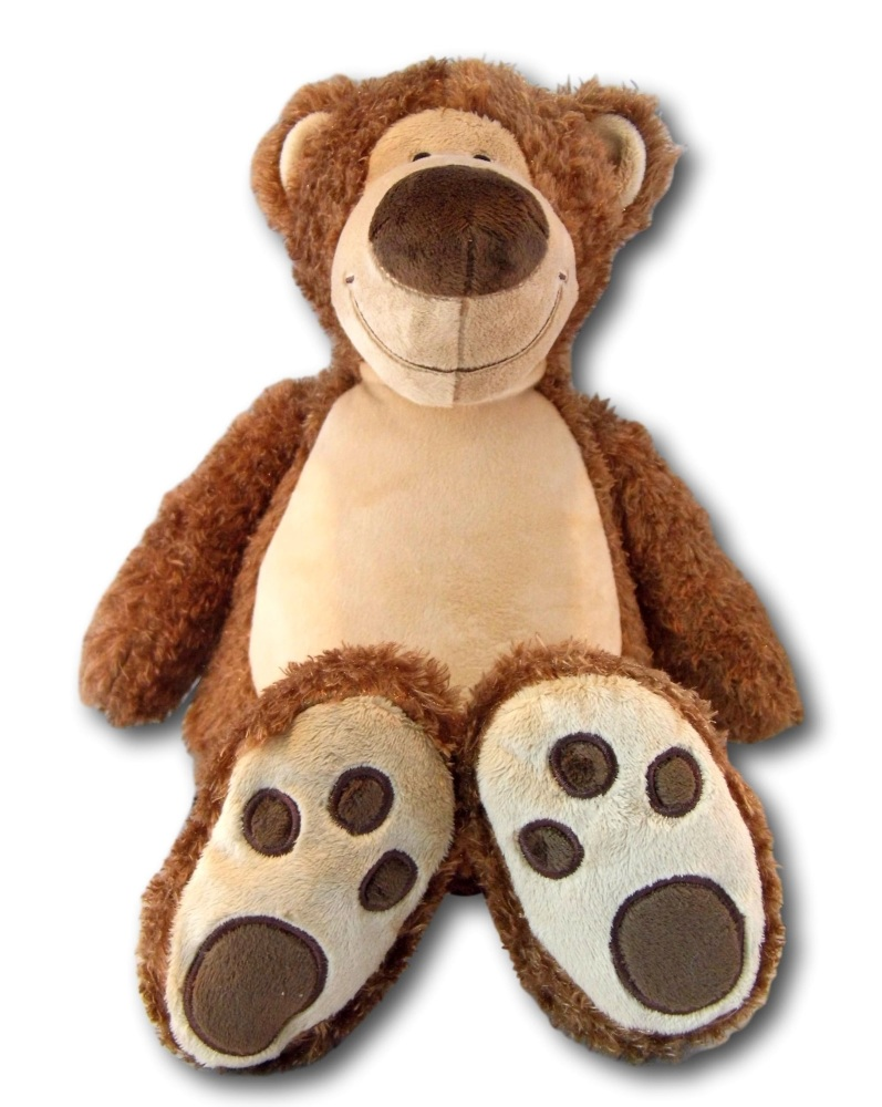 Baxter - Personalised Embroidered Teddy Bear