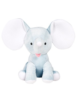 Dumbles - Personalised Embroidered Elephant - Baby Blue