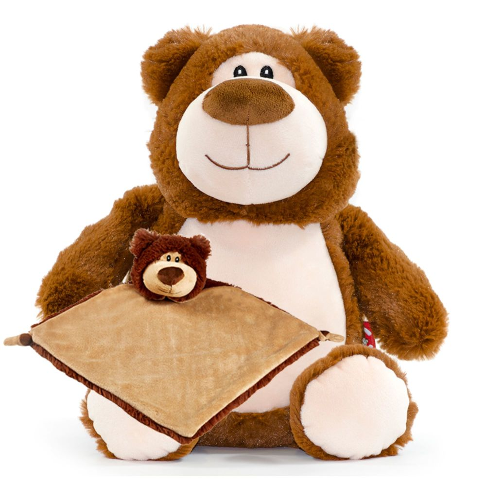 Brown Bear & Blankie Set