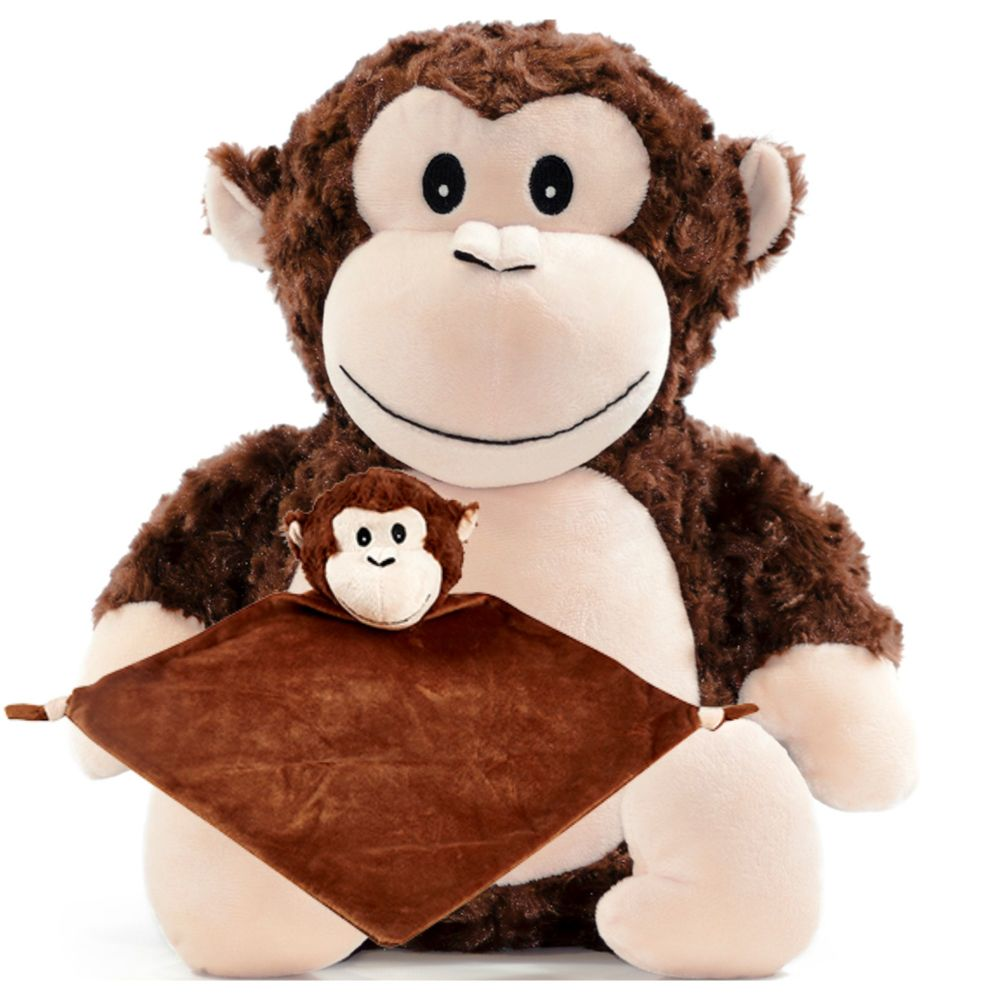 Monkey & Blankie Set