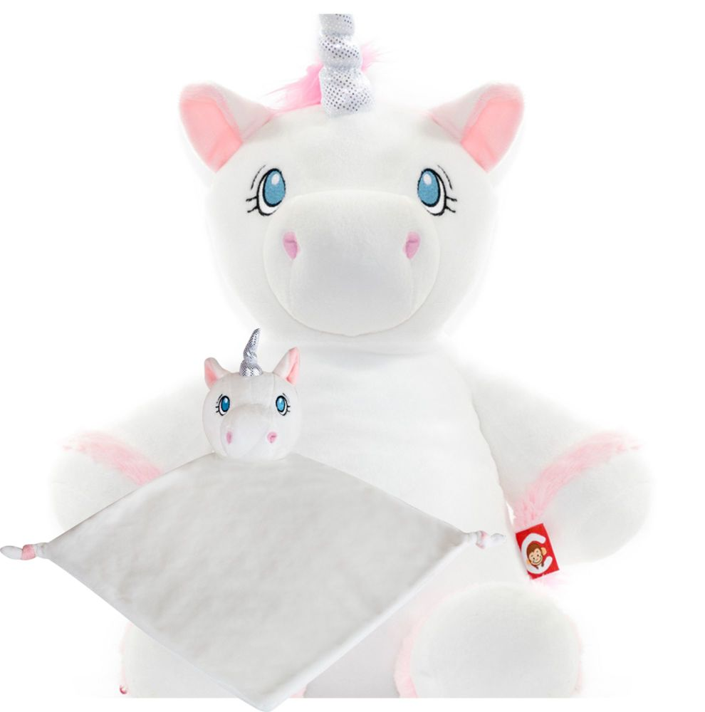 White Unicorn & Blankie Set