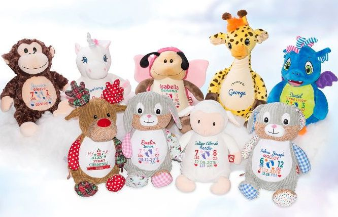 All Personalised Teddies