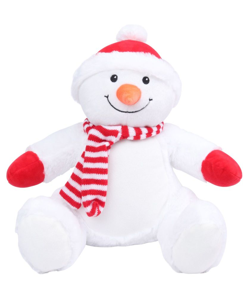 Personalised Embroidered Snowman