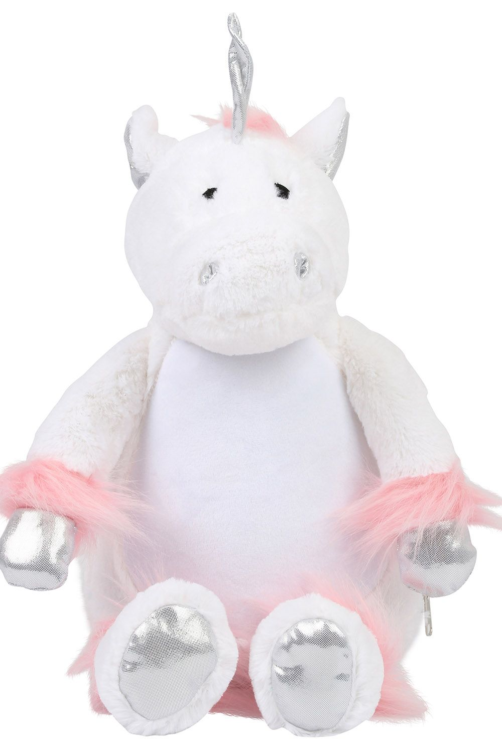 Personalised Embroidered White Unicorn