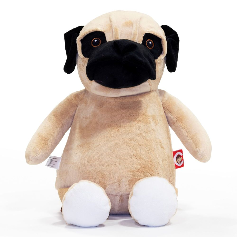 Barkley Bone - Personalised Embroidered Pug