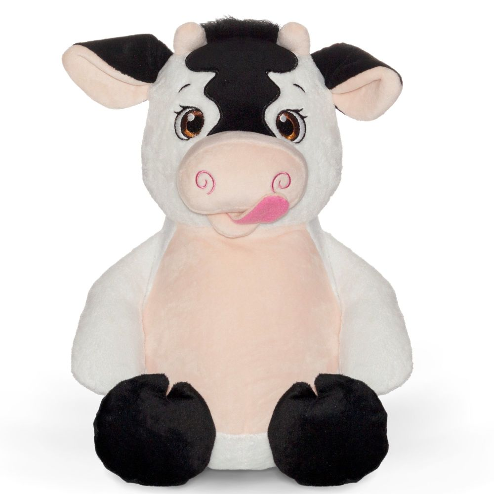 Personalised Embroidered Cow