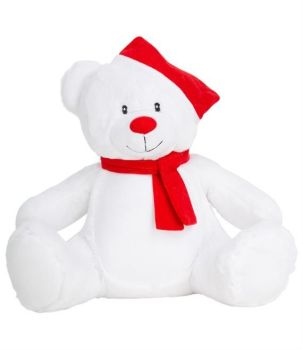 Personalised Embroidered Christmas Bear