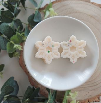 Snowflake melts (pack of 6)
