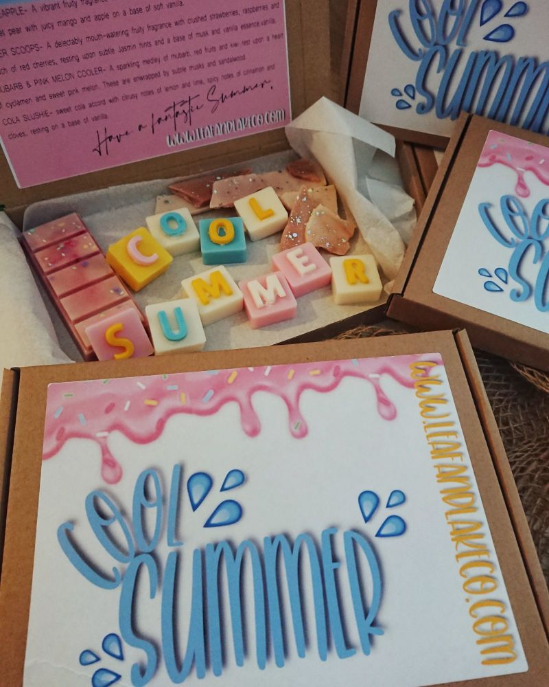 Cool Summer Themed Box