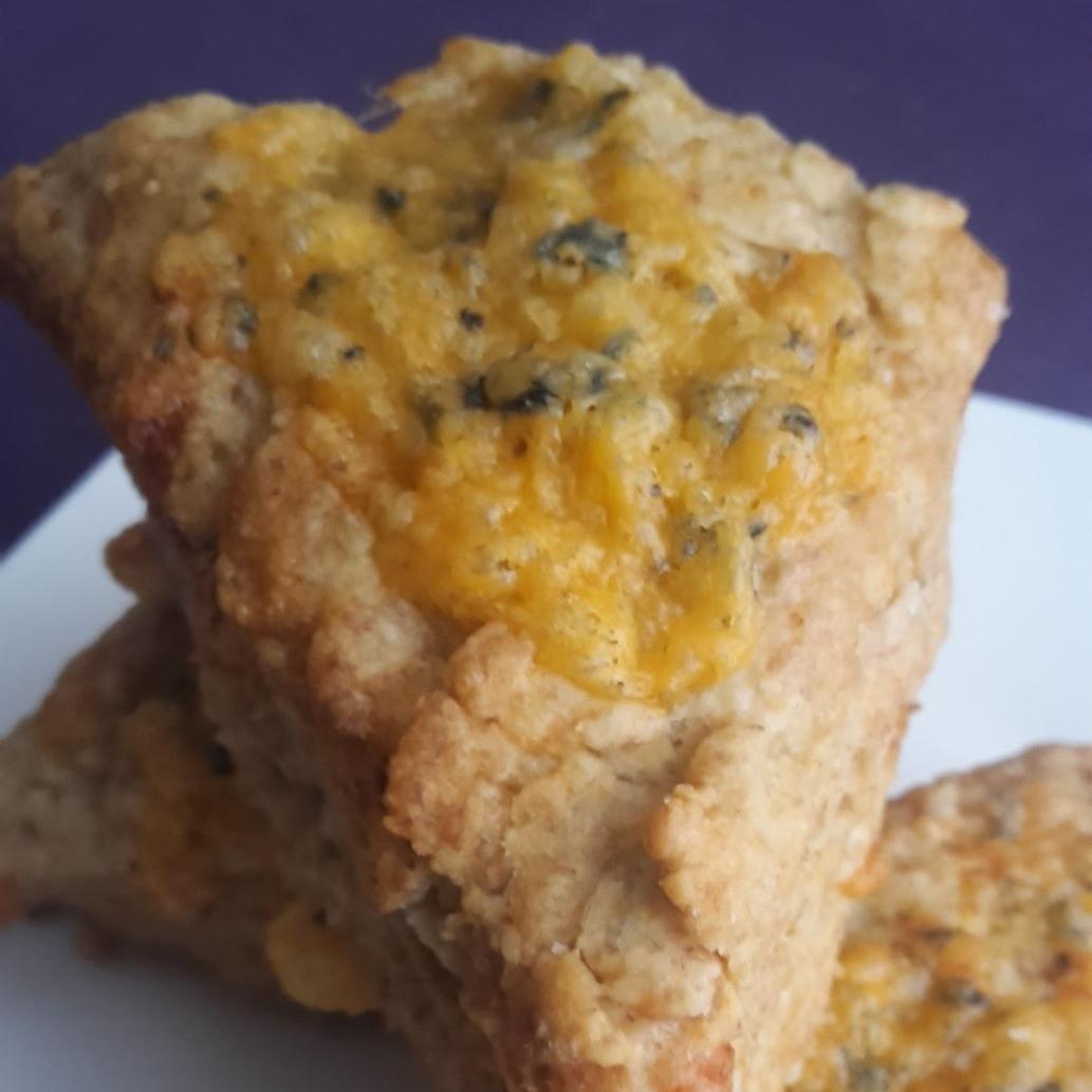 Shropshire Blue Cheese & Apple Scones
