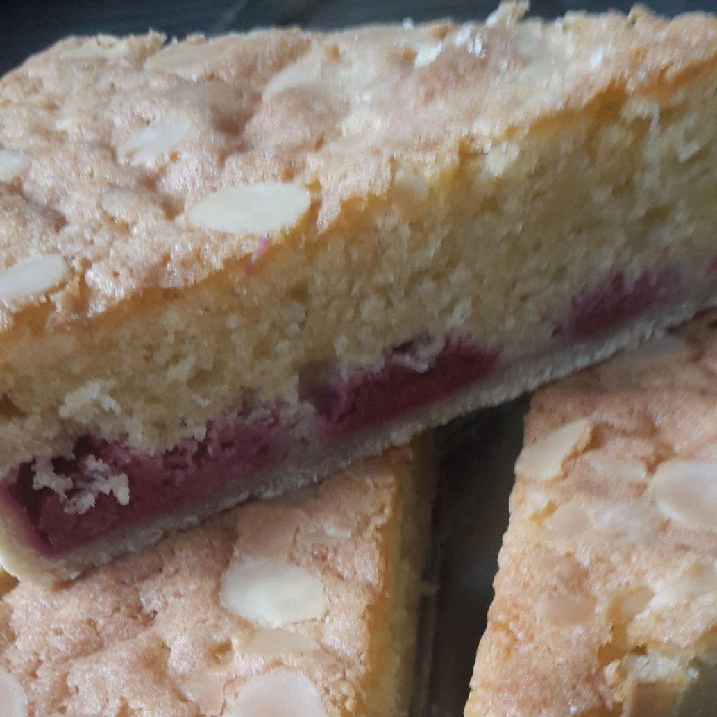 Raspberry and Almond Bakewell Tart