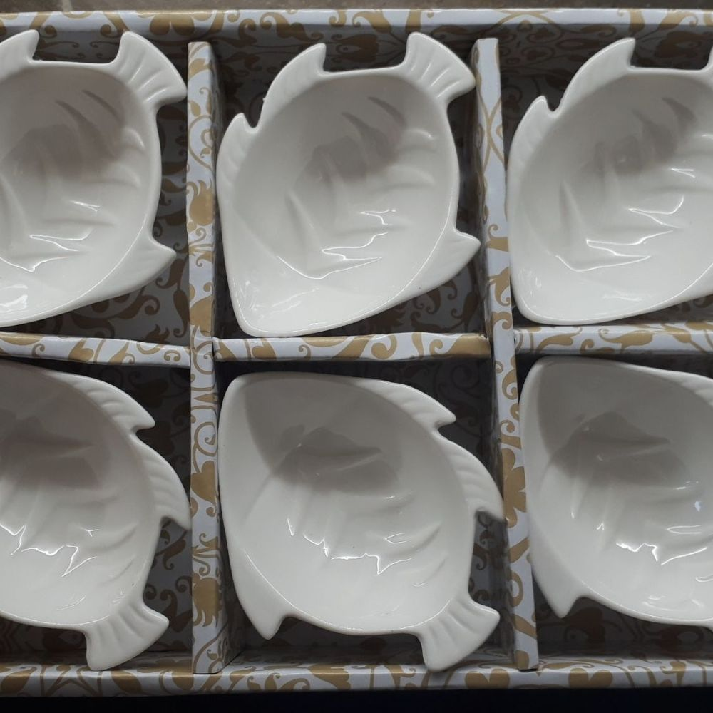Fish Shaped Dishes