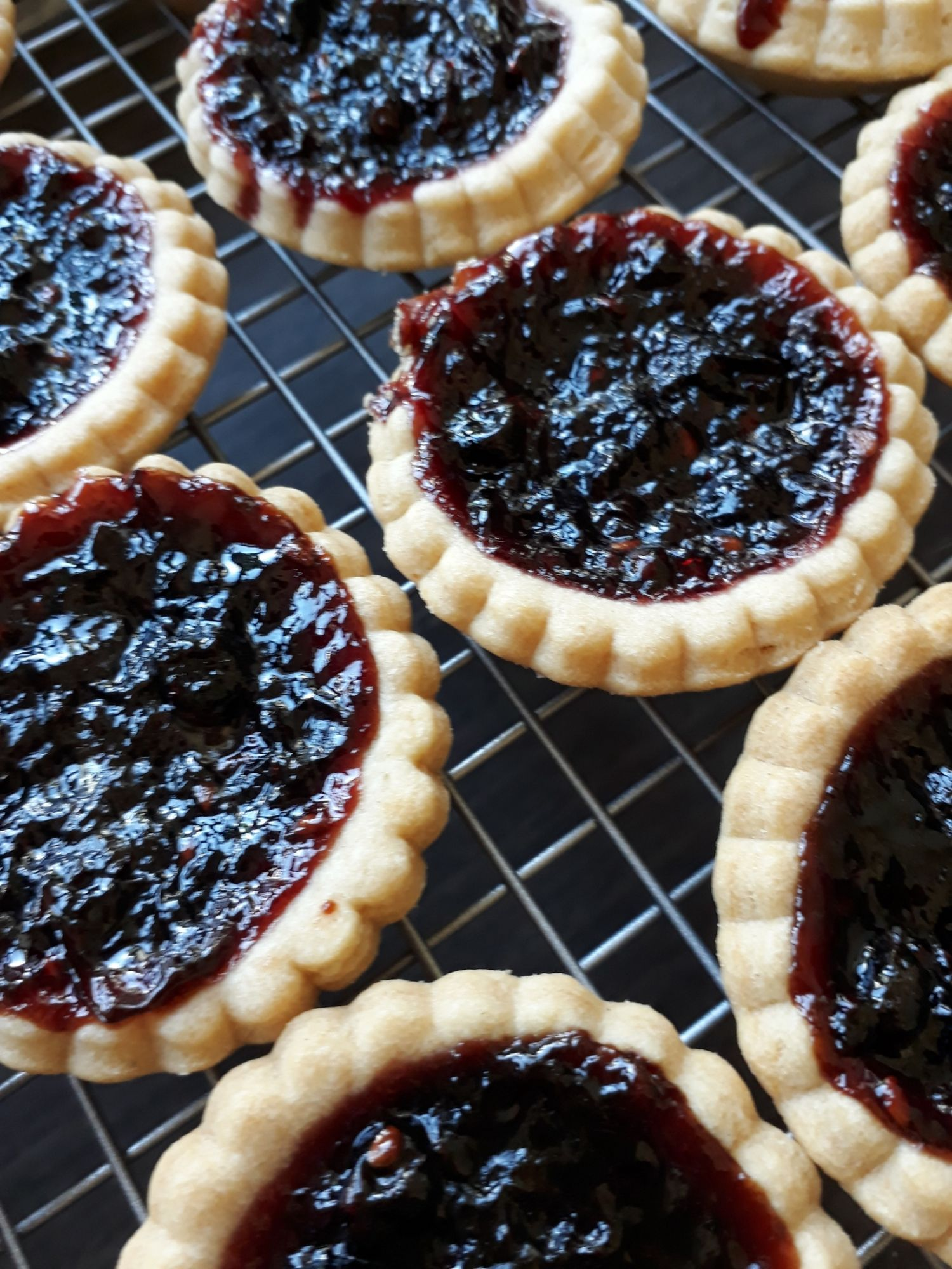 Traditional Jam Tarts suitable for vegans