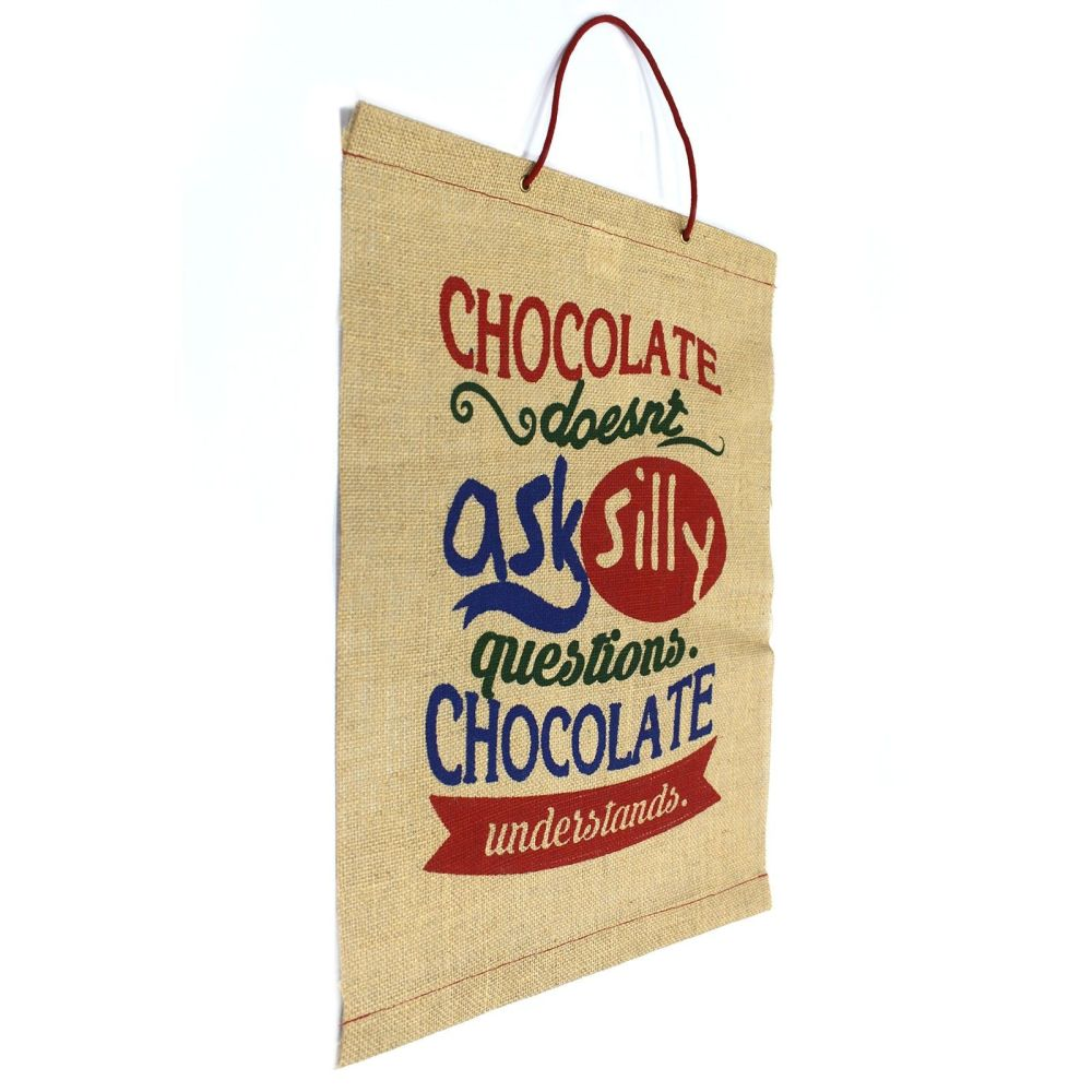 Chocolate Doesn't Ask...Kitchen Scroll