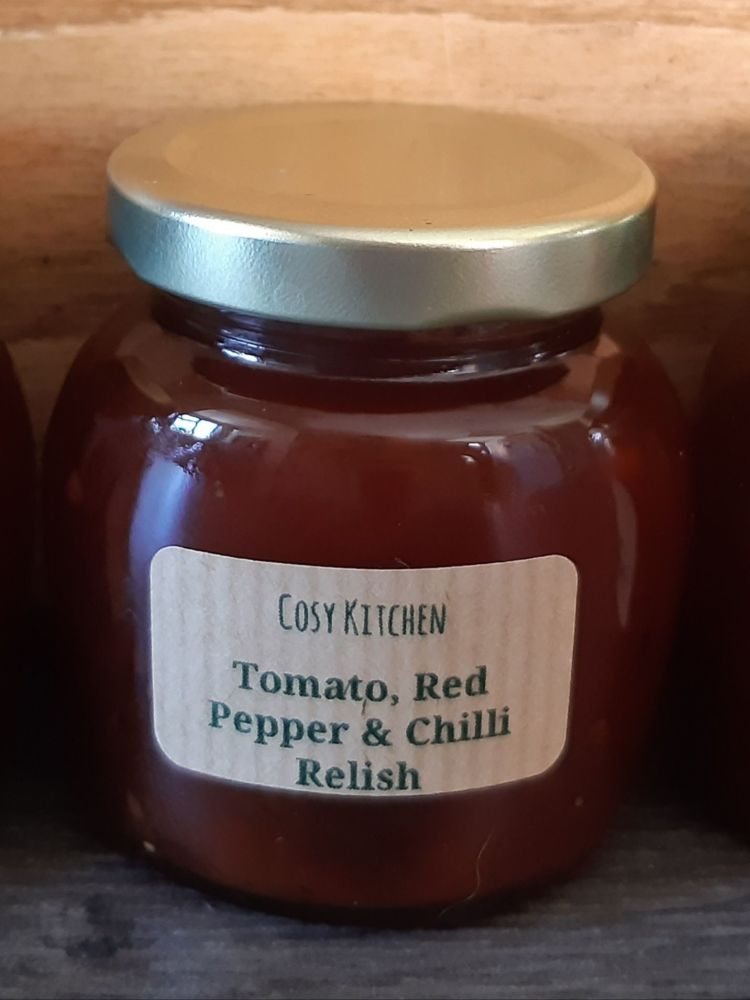 Tomato, Red Pepper & Chilli Relish