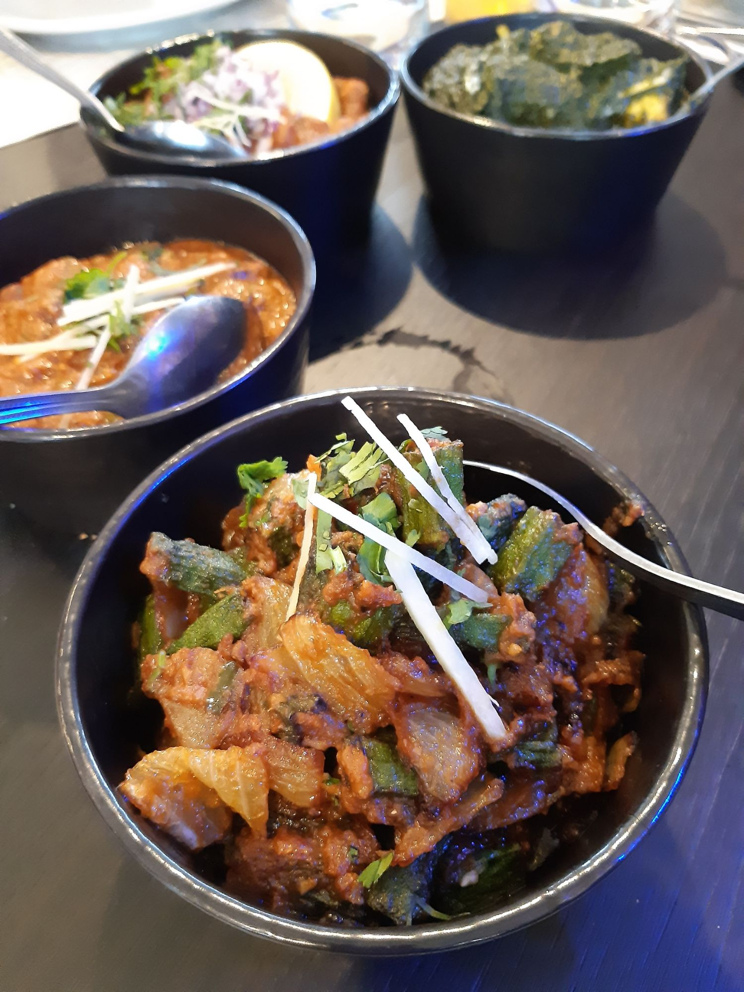 Okra Dish at Udays Wolverhampton