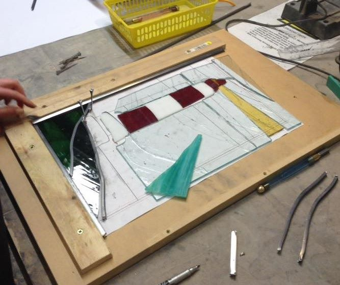Intermediate Stained Glass Evening Course
