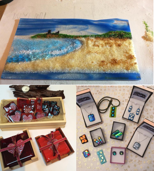 Introduction to Glass Fusing and Frit Beginners Course
