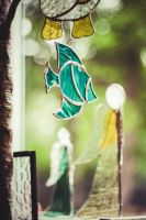 Stained Glass Decoration Beginners Class (copperfoil work)