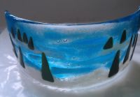 Christmas Curve Glass Fusing Class
